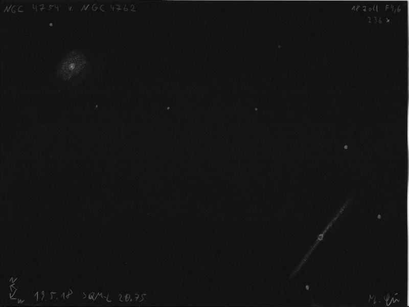 NGC 4754 und NGC 4762